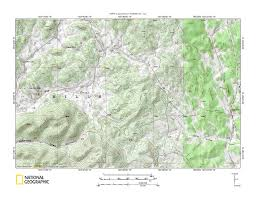 Beaver Creek Colorado Map by Red Canyon Creek Beaver Creek Drainage Divide Area Landform