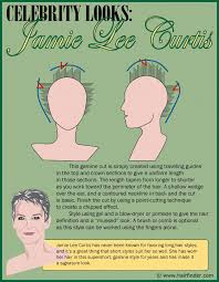jamie lee curtis haircut back view how to create a short gamine haircut inspired by jamie lee curtis