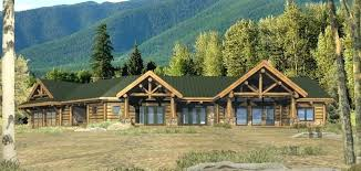 ranch style log home floor plans plans ranch style log home floor plans