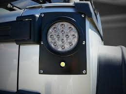 flush mount tail lights pandemic led tail light conversion kit flush mount 4 round w red