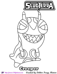 creeper doktorfroggminion coloring skgaleana deviantart