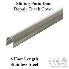 exterior sliding door track tracks for sliding doors