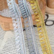 lace ribbon bulk exquisite tassel lace ribbon diy sewing material gold fringe lace
