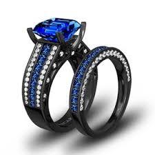 black and blue wedding rings wedding rings wedding rings
