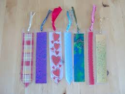 ribbon bookmarks ribbon cardstock bookmark laminated and attached with eyelet