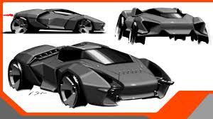 concept lamborghini ankonian munich university students dream up future lamborghini models