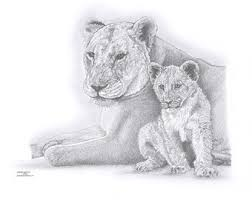 lioness etsy