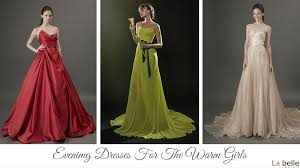 Wedding Evening Dresses A Evening Dress Or Wedding Gown For Any Skin Undertone