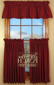 Curtains With Red Kitchen Top Walmart Kitchen Curtains For Decor Wal Mart Curtains