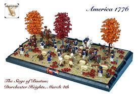 siege lego siege of boston 1776 dorchester heights independenc flickr