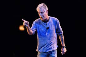 Anthony Bourdain Knife Anthony Bourdain Always Travels With A Knife In His Credit Card
