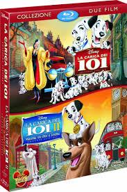 101 dalmatians 101 dalmatians ii blu ray la carica dei 101 la