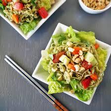 healthy ramen noodle salad recipevegan chow down
