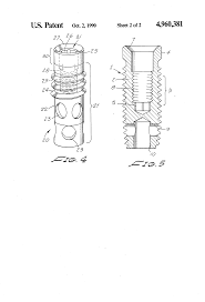 patent us4960381 type dental implant anchor google patents