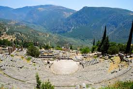 Delphi Greece Map by Greece Country Profile Nations Online Project