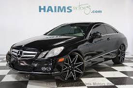 used mercedes coupe 2010 used mercedes e class 2dr coupe e350 rwd at haims motors
