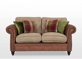 King Koil Sofa by Colourful 2 Seater High Back Fabric Sofa Noble