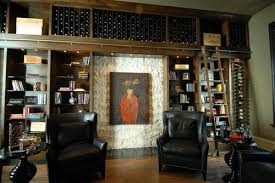 Wine Cellar Edmonton - books and wine incorporate an extra shelving space in any library