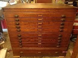 Vintage Oak Filing Cabinet Wood File Cabinet Ggregorio