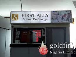 bureau de change 2 ally 2 goldfire nigeria limited