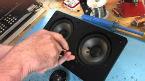 nht home theater speakers replacing nht vt 2 tweeter youtube