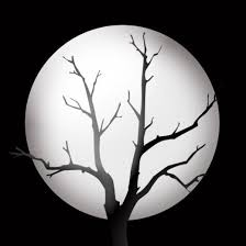 halloween tree clipart clipart panda creepy moon clipart clipartxtras