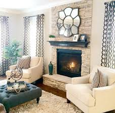 Best  Wallpaper Fireplace Ideas On Pinterest Grey Feature - Living rooms with fireplaces design ideas
