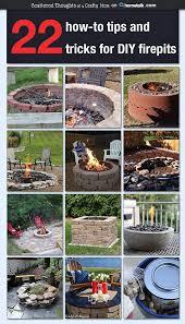 Diy Backyard Fire Pits by 220 Best Fire Pits Images On Pinterest Backyard Ideas Patio