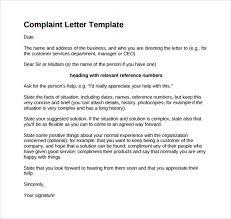Formal Complaint Letter Against An Employee complaint template city espora co