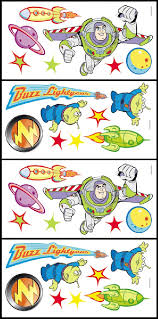 toy story buzz lightyear accent stickers