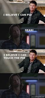 Meme Sam - supernatural pie meme sam dean