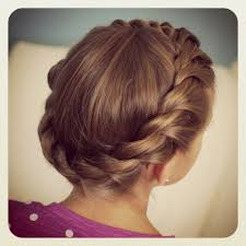 Fancy Hairstyles For Little Girls by Flower Updo Hairstyles 1000 Images About Little Hair On