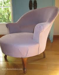 siege crapaud retapisser un fauteuil crapaud fauteuil déco