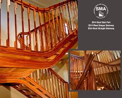 unique stairs 2015 sma winning stairs u2014 nk woodworking u0026 design