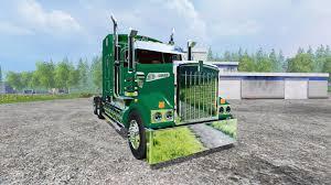 trailer kenworth 2016 kenworth t908 john deere trailer v2 0 for farming simulator 2015