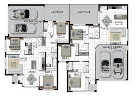 corner lot duplex plans bedroom home floor plans free printable house flint hill pointe