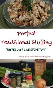 make stuffing day before thanksgiving perfect homemade stuffing crockpot recipe a year of slow cooking