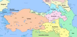 Kurdistan Map An Alternative Asia Minor And Surrounding Areas Oc 1920x924