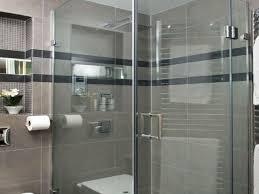 modern grey tile bathroom home decorations