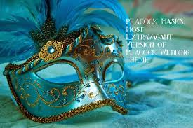 peacock wedding theme savvy deets bridal peacock masks most extravagant version of