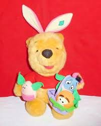 winnie the pooh easter eggs winnie pooh plush with piglet easter egg disney 14 99 picclick