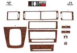 audi a4 b6 typ 8e 8h 10 2000 interior dashboard trim kit