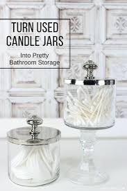 bathroom storage jar ideas varyhomedesign com