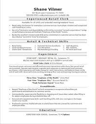 resume sles word format retail sales clerk resume sle