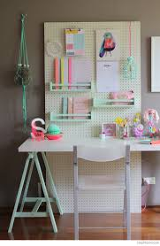 over 30 ways to organize with a peg board kids study desk kids