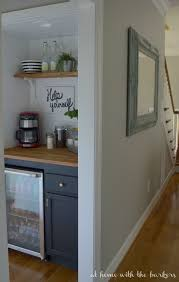 Building A Bar With Kitchen Cabinets Best 25 Beverage Bars Ideas On Pinterest Tea Station Keurig