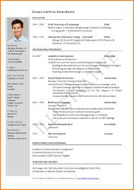 resume formatting exles current resume format therpgmovie