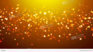 loopable orange glitter and sparkles over gradient background