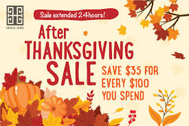 after thanksgiving sale sale extended 24hours huongs jewellery