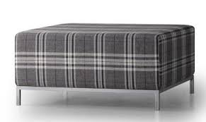 Plaid Chair And Ottoman by The Modern Contemporary Le Pouf Ottoman By Trica Furniture Five